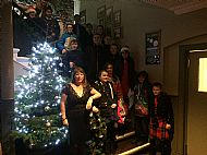 Christmas night funded by Skye & Lochalsh Drug & Alcohol Forum & Portree Hotel